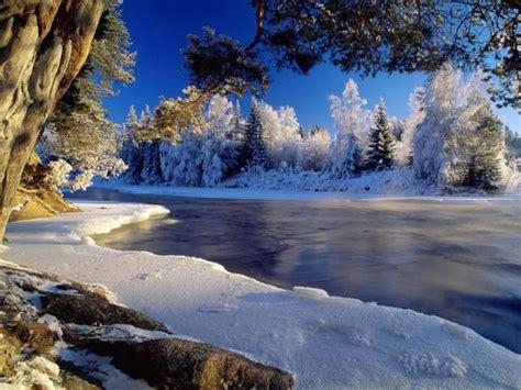 fondos de invierno  paisajes nevados wallpapers