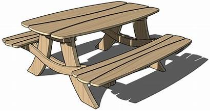 Clipart Picnic Bench Wood Clipartion Related