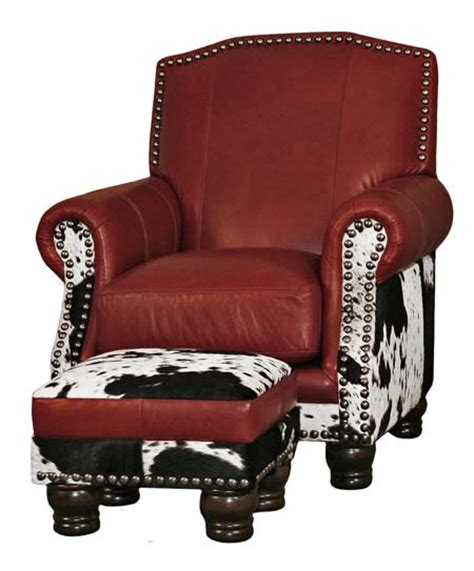 Western Cowhide Furniture by Black And White Cowhide Chair Color Furniture Free Shipping