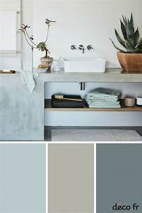 15 best nuancier de couleur images on pinterest ideas With salle de bain tendance