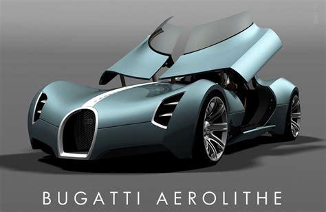 Red Baiduri Bugatti Aerolithe Futuristic Supercars