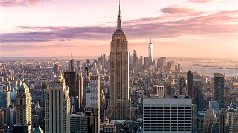 manhattan skyline  york city wallpapers hd wallpapers