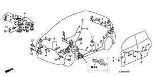 2008 Honda Fit 5 Door Sport Ka 5at Wire Harness