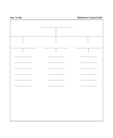 tree map template tree map template 6 free pdf documents free premium templates