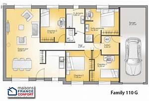 seniors 3 maisons a faire construire dans la region midi With maison de 100m2 plan 4 plans de maisons maison laure constructeur region centre