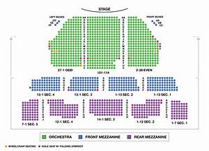 Imperial Theatre Large Broadway Seating Charts