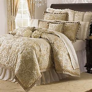 michael amini novella 4 piece reversible comforter set With bed bath and beyond luxury bedding