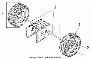 Mtd 31ah553g401  2001  Parts Diagram For Wheels And Axle