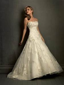 ivory strapless lace empire waist formal wedding dress With dress for formal wedding