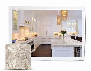 100+ [ Cambria Praa Sands White Cabinets ] Quartz Tops