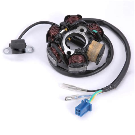 Oem Stator Coil Wire Scooterworks Usa