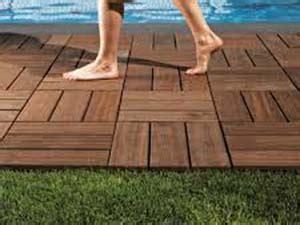 Pavimenti da giardino fai da te in legno Style Relooking