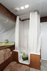 Jayco Curtains by How Do Non Walled Showers Work Popupportal