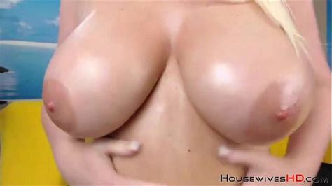 Pretty Blonde Canadian Mature With Huge Boobs Squirting