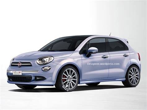 Ford Fiat by Design Study Show Fiat 500 Plus A Replacement For The