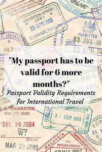 Passport requirements jet setting spirit for Requirements for passport validity