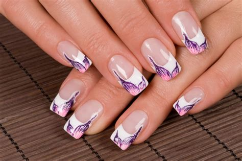 Lovely French Manicure Nail Art Ideas