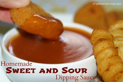 easy and recipes easy recipes homemade sweet and sour dipping sauce dipdiphooray perfect for a family game