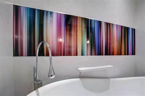bathrooms  glass shower walls glass splashbacks