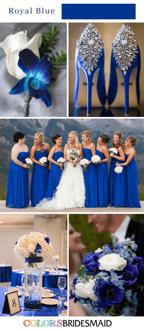 Fall wedding colors royal blue #fashionablebeddingideas