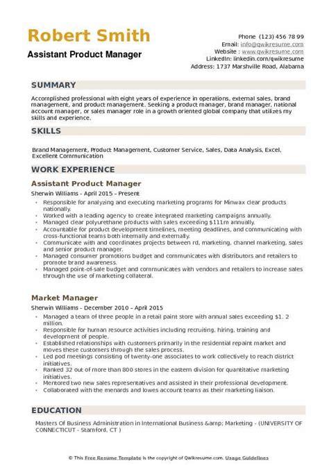 Sle Resume For Product Manager by Product Manager Resume Summary Bijeefopijburg Nl
