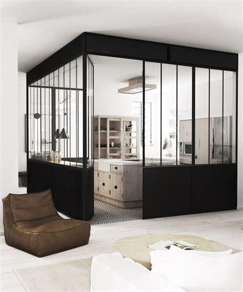 cloison vitree cuisine la verrière dans la cuisine 19 idées photos cloison