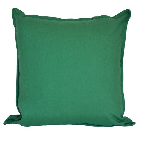 cotton duck olive green cushion 45x45cm hupper