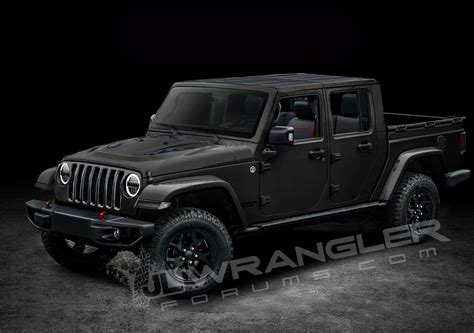 New Jeep Wrangler Truck by Jeep Wrangler Ute Rendered Photos Caradvice