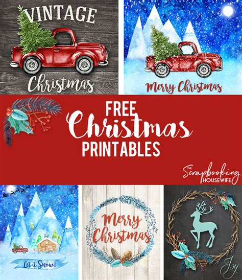 ellabella designs  christmas wall art printables