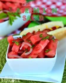 Watermelon Balsamic Salad