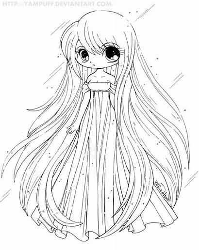 Coloring Pages Manga Llama Printable Getcolorings