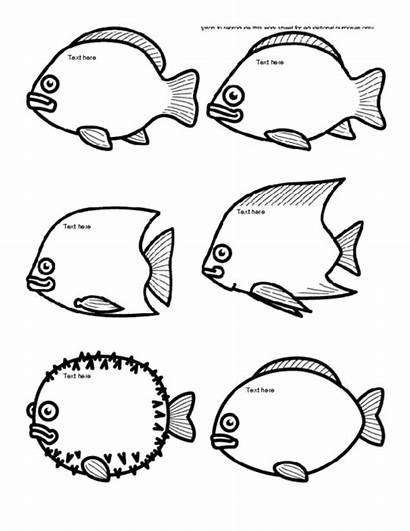 Fish Template Templates Fishing Character Ice Icebreaker