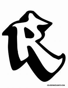 Graffiti 3d Arts: Letter R in a Special Alphabet Graffiti ...