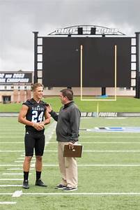 Football players, video board highlight media day - GVNow ...