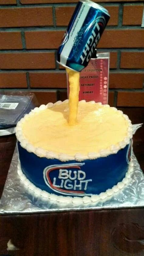 bud light cake budlight cake pastel para borrachos cakes