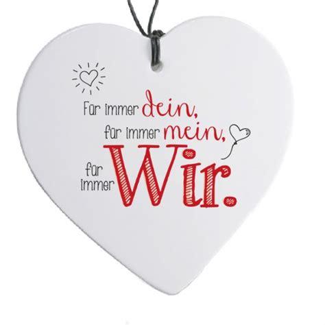 """Herz mit Spruch """"Für immer dein""""  H 14 cm günstig"""