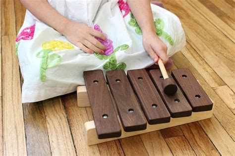 wooden xylophone toy  handcrafted heirloom gift