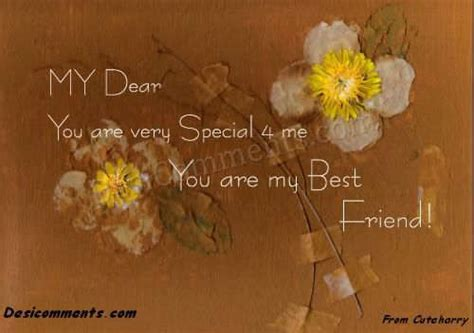 You Are My Special Friend Quotes