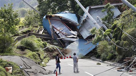 Damage From Major Earthquake In Hokkaido