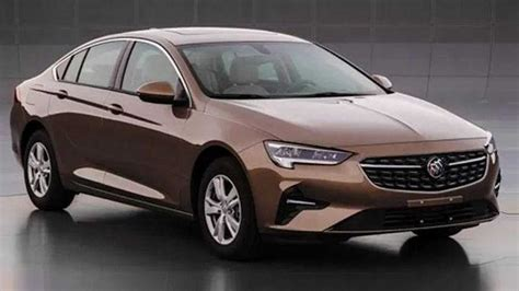 buick regal surfaces  china  minor facelift