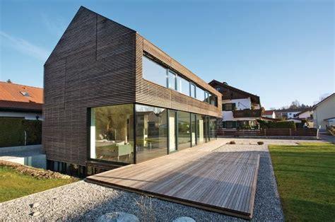 Moderne Häuser Ohne Dachüberstand by Haus Ohne Dach 252 Berstand Domy In 2019 Schmales Haus