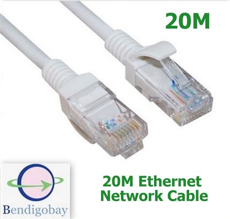 cable ethernet 20m 20m rj45 cat5 ethernet lan network cable lead for
