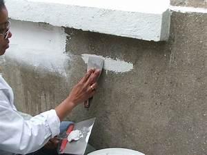 renover un mur exterieur abime galerie photos d39article With lisser un mur exterieur