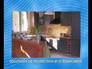 Kit D Étanchéité Sous Carrelage : membrane d 39 tanch it sous carrelage membrane ppe youtube ~ Melissatoandfro.com Idées de Décoration
