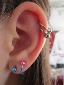 17 Best images about Piercings on Pinterest | Triple ear ...