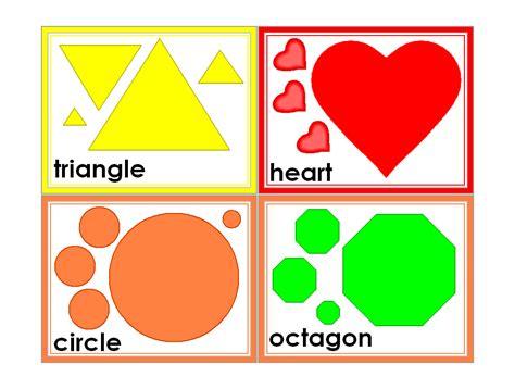free printable preschool flash cards 6 best images of preschool printable shapes flash cards 77023