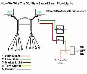 Smith Brothers Servicessealed Beam Plow Light Wiring