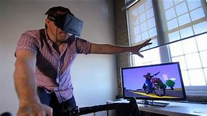 Oculus Rift  Kinect And A Stationary Bike Power Virtual