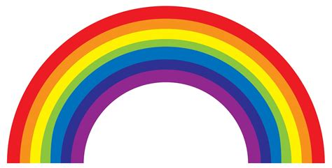 what are the colors in the rainbow colours of the rainbow tag