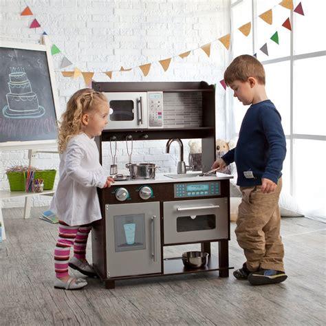baby kitchen set kidkraft toddler play kitchen with metal